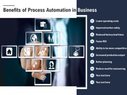 Benefits Of Process Automation In Business