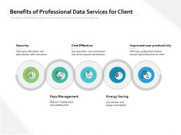 Benefits Of Professional Data Services For Client