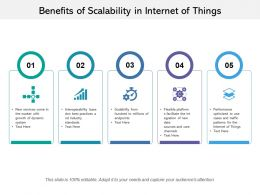 Benefits Of Scalability In Internet Of Things