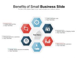 Benefits Of Small Business Slide