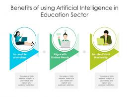 Benefits Of Using Artificial Intelligence In Education Sector