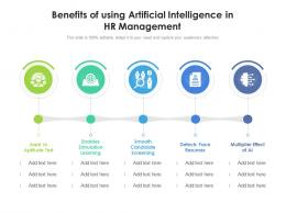 Benefits Of Using Artificial Intelligence In HR Management