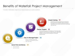 Benefits Of Waterfall Project Management