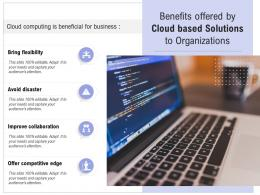 Benefits Offered By Cloud Based Solutions To Organizations