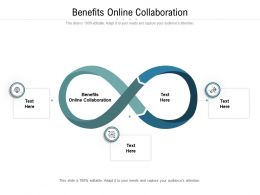 Benefits Online Collaboration Ppt Powerpoint Presentation Outline Samples Cpb