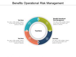 Benefits Operational Risk Management Ppt Powerpoint Presentation File Graphics Design Cpb