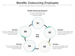 Benefits Outsourcing Employees Ppt Powerpoint Presentation Outline Maker Cpb