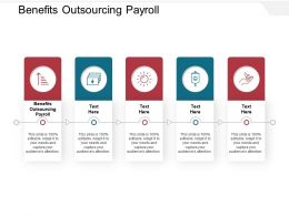 Benefits Outsourcing Payroll Ppt Powerpoint Presentation Diagram Images Cpb