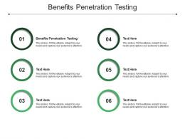 Benefits Penetration Testing Ppt Powerpoint Presentation Gallery Background Designs Cpb