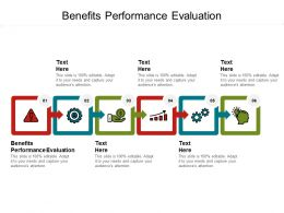 Benefits Performance Evaluation Ppt Powerpoint Presentation Pictures Introduction Cpb