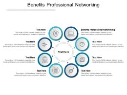 Benefits Professional Networking Ppt Powerpoint Presentation Icon Introduction Cpb