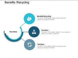 Benefits Recycling Ppt Powerpoint Presentation Model Outfit Cpb