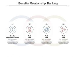 Benefits Relationship Banking Ppt Powerpoint Presentation Ideas Graphics Design Cpb