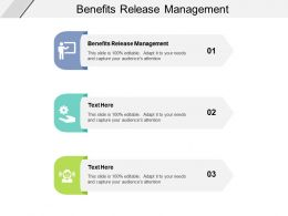 Benefits Release Management Ppt Powerpoint Presentation Model Graphic Images Cpb