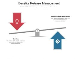 Benefits Release Management Ppt Powerpoint Presentation Outline Template Cpb