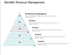 Benefits Revenue Management Ppt Powerpoint Presentation Professional Grid Cpb
