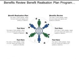Benefits Review Benefit Realisation Plan Program Project Performance