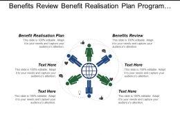 Benefits Review Benefit Realisation Plan Program Project Performance