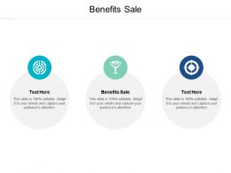 Benefits Sale Ppt Powerpoint Presentation Gallery Graphics Cpb