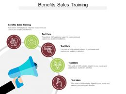Benefits Sales Training Ppt Powerpoint Presentation Summary Picture Cpb