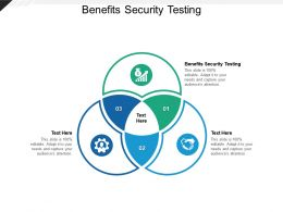 Benefits Security Testing Ppt Powerpoint Presentation Summary Guidelines Cpb
