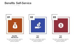 Benefits Self Service Ppt Powerpoint Presentation Icon Infographic Template Cpb