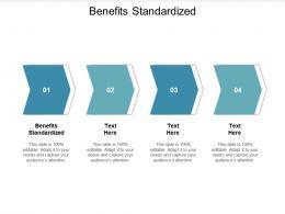 Benefits Standardized Ppt Powerpoint Presentation Icon Model Cpb