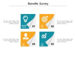 Benefits Survey Ppt Powerpoint Presentation Infographic Template Design Inspiration Cpb