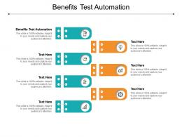 Benefits Test Automation Ppt Powerpoint Presentation Pictures Outline Cpb