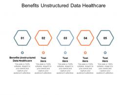 Benefits Unstructured Data Healthcare Ppt Powerpoint Presentation Portfolio Outline Cpb