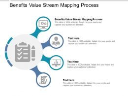 Benefits Value Stream Mapping Process Ppt Powerpoint Presentation Icon Designs Download Cpb