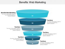 Benefits Web Marketing Ppt Powerpoint Presentation File Information Cpb