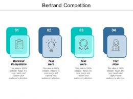 Bertrand Competition Ppt Powerpoint Presentation Show Format Ideas Cpb