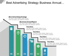 Best Advertising Strategy Business Annual Report Business Research Cpb