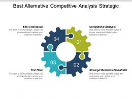 Best Alternative Competitive Analysis Strategic Business Plan Model Cpb