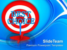 Best Choice For Business Development PowerPoint Templates PPT Themes And Graphics 0513