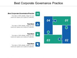Best Corporate Governance Practice Ppt Powerpoint Presentation Pictures Graphics Cpb