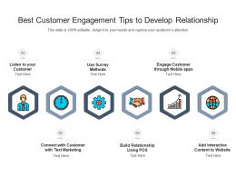 Best Customer Engagement Tips To Develop Relationship