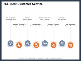 Best Customer Service Leave M2870 Ppt Powerpoint Presentation Infographics
