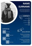 Best CV Resume Example Editable Template