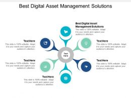 Best Digital Asset Management Solutions Ppt Powerpoint Presentation Summary Cpb