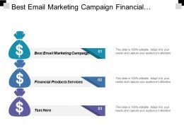 Best Email Marketing Campaign Financial Products Services Personal Attributes