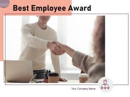 Best Employee Award Powerpoint Presentation Slides