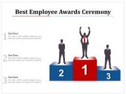 Best Employee Awards Ceremony