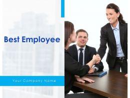 Best Employee Powerpoint Presentation Slides