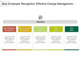 Best Employee Recognition Effective Change Management Sales Crm