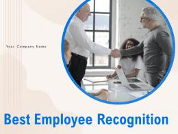 Best Employee Recognition Powerpoint Presentation Slides