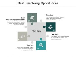 Best Franchising Opportunities Ppt Powerpoint Presentation Outline Brochure Cpb