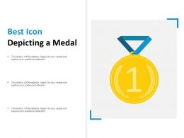 Best Icon Depicting A Medal