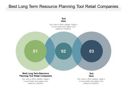 Best Long Term Resource Planning Tool Retail Companies Ppt Powerpoint Presentation Ideas Cpb